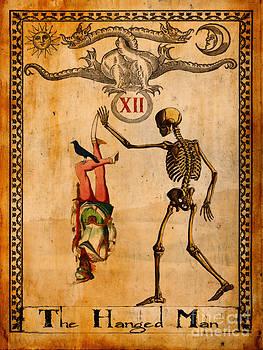 Tarot Card The Hanged Man by Cinema Photography