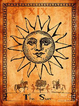 Tarot Card The Sun by Cinema Photography