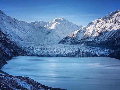 Tasman Glacier NZ by Kim Andelkovic