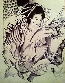 Tattoo drawing by Maritza Montnegro