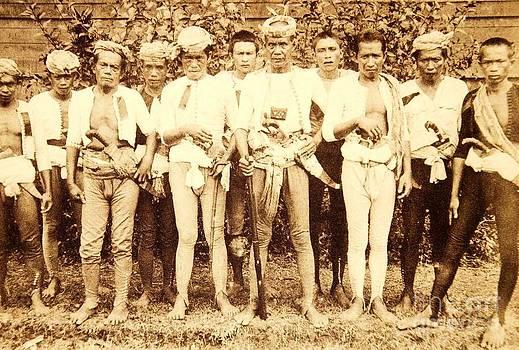 Roberto Prusso - Tausug Tribe Members - Moros