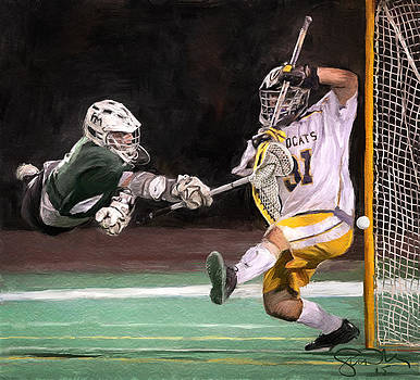 Taylor Lacrosse 2 by Scott Melby