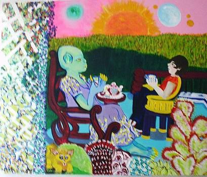Tea with  Auntie Veeve by Ann Teicher