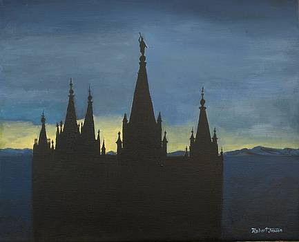 Temple at Twilight by Robert Jenson