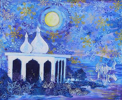 Temple on the Sea 2 by Samantha Rochard