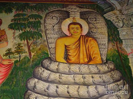 Temple  by Sunanda Yapa