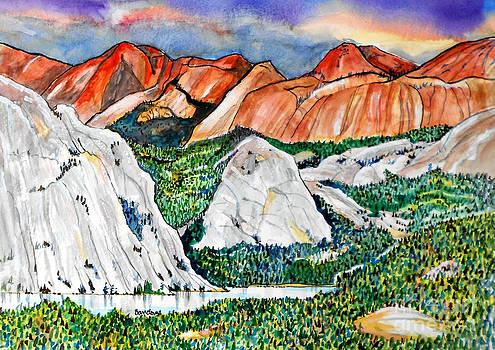 Tenaya Lake Yosemite by Terry Banderas