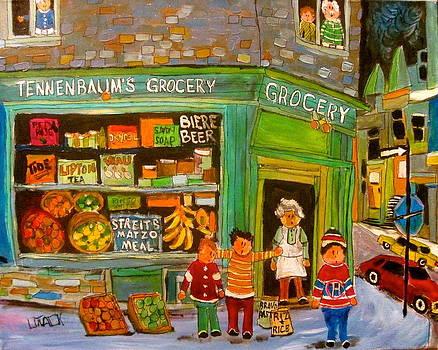 Tennenbaum's Grocery Depanneur by Michael Litvack
