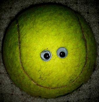 Tennis ball by Donatella Muggianu