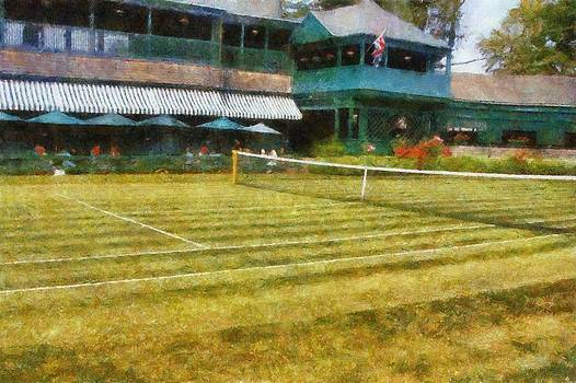 Michelle Calkins - Tennis Hall of Fame - Newport Rhode Island