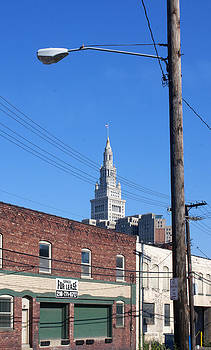 Terminal Tower From Canal Road by Rob Richardson
