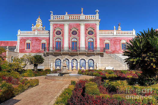 English Landscapes - Terrace of The Palacio De Estoi