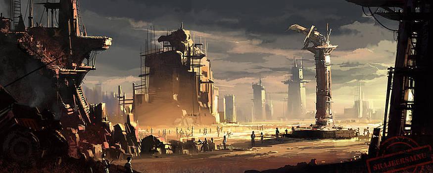 Terrain by Shajeersainu Sainu