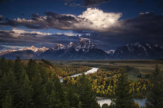 Teton Cloudburst by Andrew Soundarajan