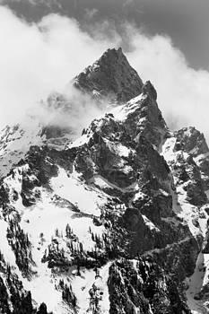 Teton Peak by David Yunker
