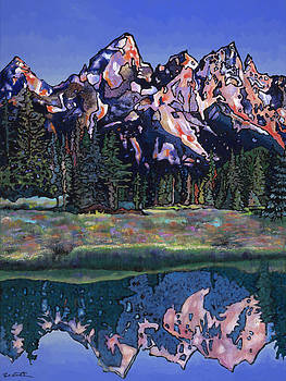 Teton Summer by Bob Coonts