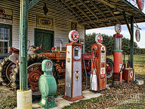 Texaco Pumps by Julia Dressler