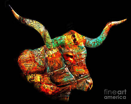 Texas Style Longhorn II by Pam Carter