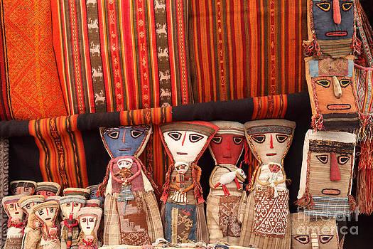 James Brunker - Textiles and dolls