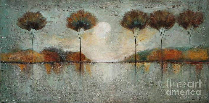 Textured Forest by Lauren  Marems
