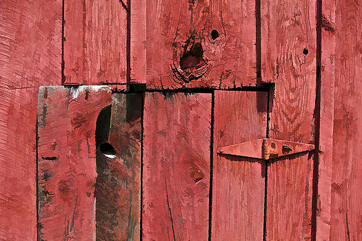 David Letts - Textured Red Barn Wall