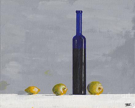 The Blue Bottle by David I. Jackson by David Jackson