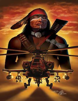 The Apache Spirit by  Orlando Baca