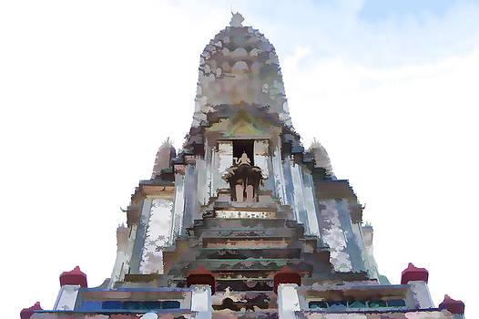 Thai Temple Thailand by Indiana Zuckerman