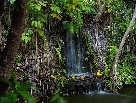 Thailand waterfall by Mike Lee