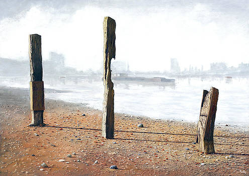 Thames Sentinels by Eric Bellis