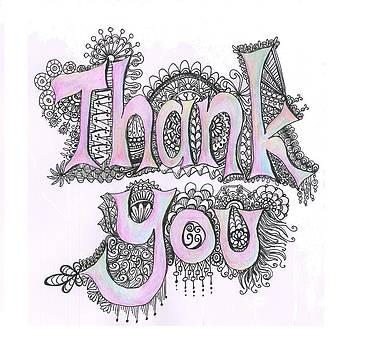 Thank You by Cherie Sexsmith