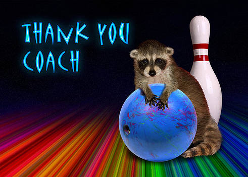 Jeanette K - Thank You Coach Raccoon