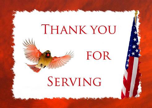 Randall Branham - THANK YOU FOR SERVING