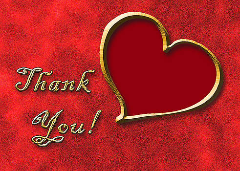 Jeanette K - Thank You Gold Heart