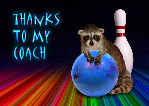 Jeanette K - Thanks To My Coach Raccoon