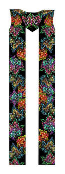Thanksgiving and Fall Leaves Clergy Stole by Julie Rodriguez Jones