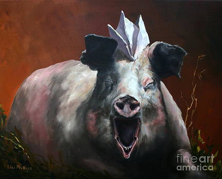 That Pig Got On A Paper Hat by Lisa Phillips Owens