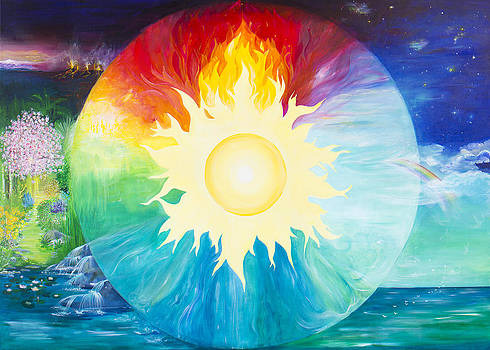The 4 Elements by Barbara Klimova