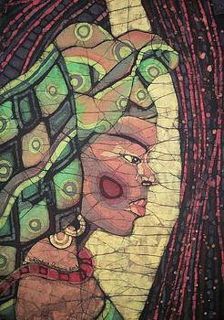 The African Woman by Lukandwa Dominic