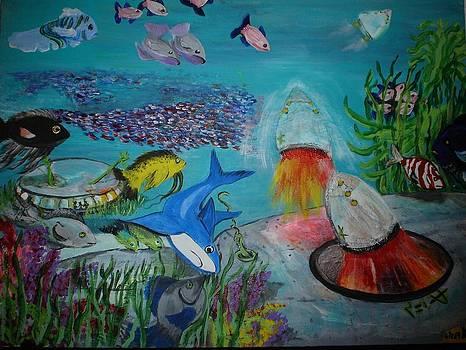 The Alien Ocean by Ann Teicher