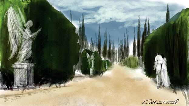 The Alley by Ivan Bogoev