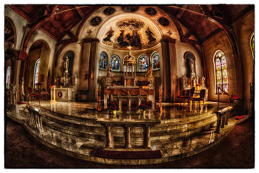 The Alter by Kimberleigh Ladd