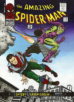 The Amazing Spider-man 39 by Steve Benton