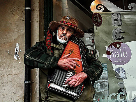 The Angry Zither Man				 by Doug Fredericks