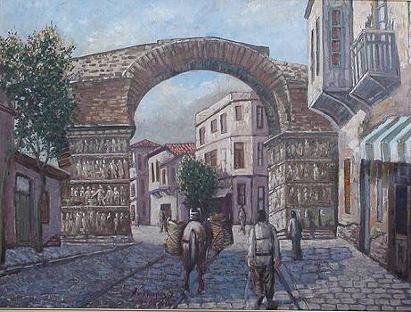 The Arch of Galerius by Charalampos Laskaris