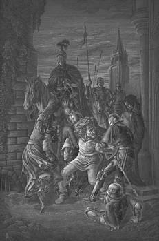 The arrest of Quasimodo by Irina Sumanenkova