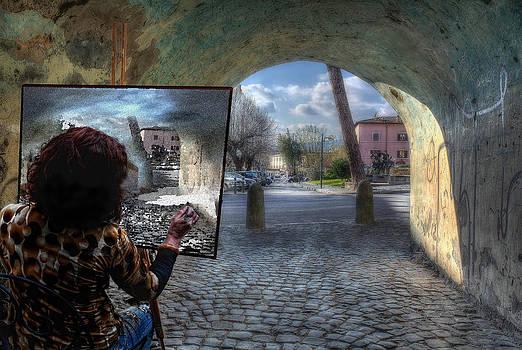 The Artist by Leonardo Marangi