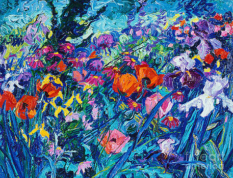 The Artist's Garden In May by Brian Mahieu