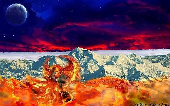The awakening of the Phoenix by Arcanico Luca Smith Acquaviva
