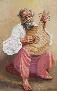 The Bandura Player by Raffi  Jacobian